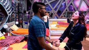 Sidharth Shukla loses his temper on Rubina Dilaik