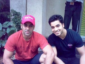 An Old Picture of Gautam Gulati and Salman Khan