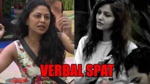 bigg boss 14 spoiler alert day 21 verbal spat between captain kavita kaushik and rubina dilaik 300x169 1