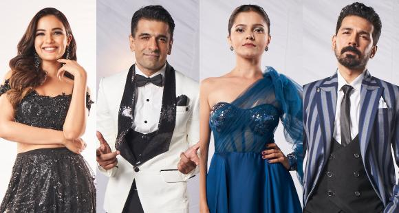jasmin bhasin nishant malkhani eijaz khan rubina dilaik abhinav shukla meet the biggboss14 contestants 1