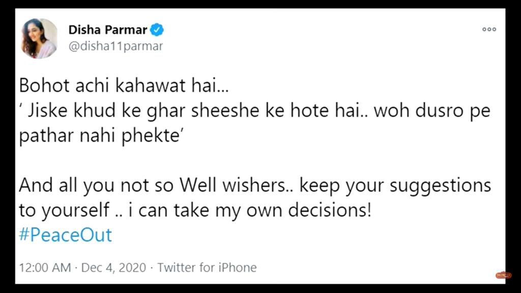BIGG BOSS 14: Rubina calls Rahul a misogynist, Disha Parmar responds