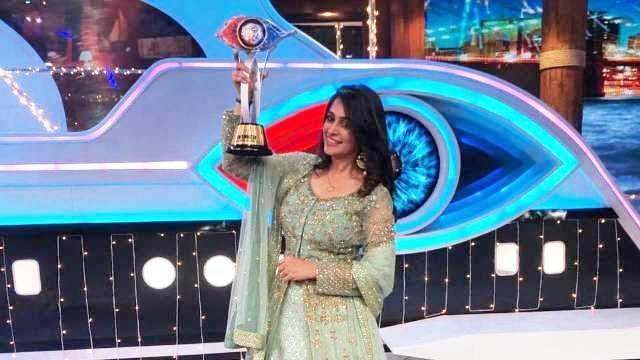 Dipika Kakar The Winner Of Bigg Boss 12 in 2018