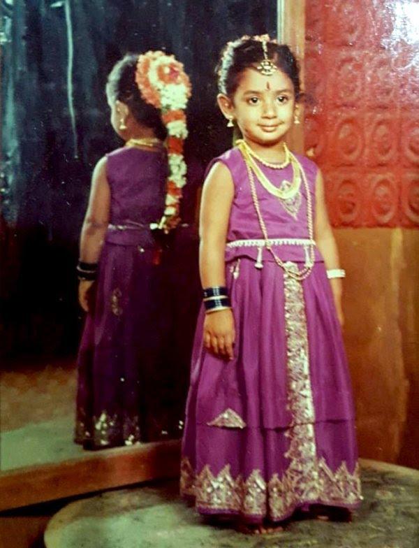 Mithali Raj Childhood Photo
