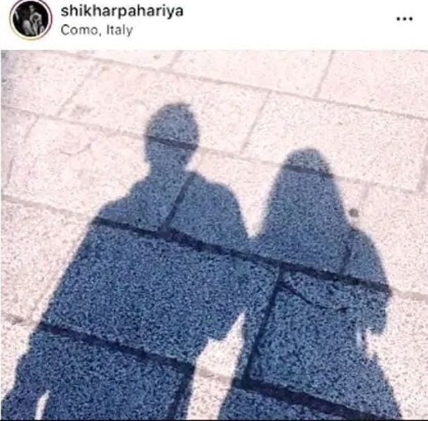 Shikhar Pahariya Post