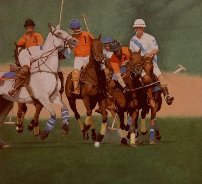 Shikhar Pahariya playing with his Royal Jaipur Polo Team 1