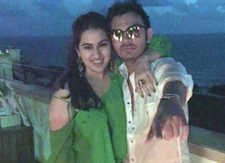 Veer Pahariya with Sara Ali Khan 768x557 1