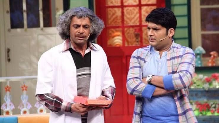 Sunil Grover with Kapil Sharma