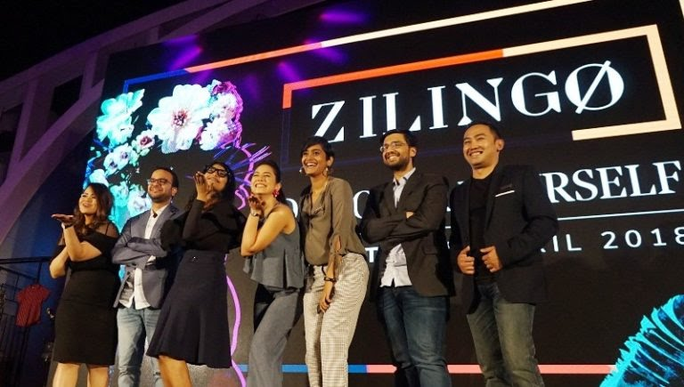 Ankiti Bose with Her Team in an Event of Zilingo 768x435 1
