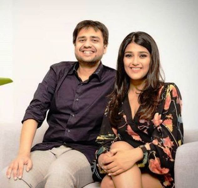 Ankiti Bose with the Co Founder of Zilingo Dhruv Kapoor 1