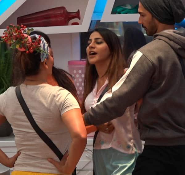 Rakhi Sawant with Nikki Tamboli in Bigg Boss 14
