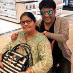 Kapil Sharma with his mother 150x150 1