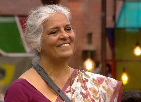 Rajini chandy at the set of Big Boss