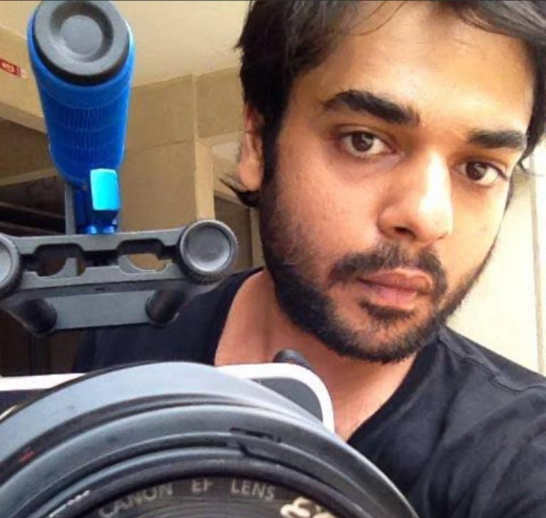 Rohit mittal with camera