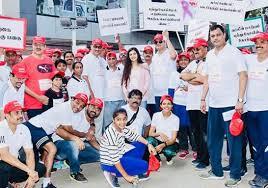 Image result for ashrita shetty cancer awareness