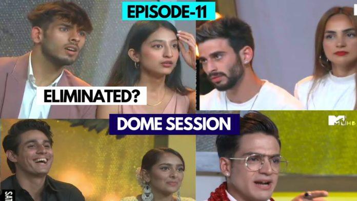 Splitsvilla 13 episode 11 elimination ideal match dome session 696x392 1