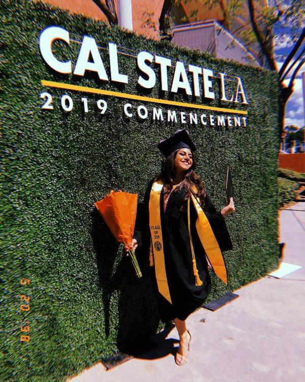 Jearnest Corchados graduation picture