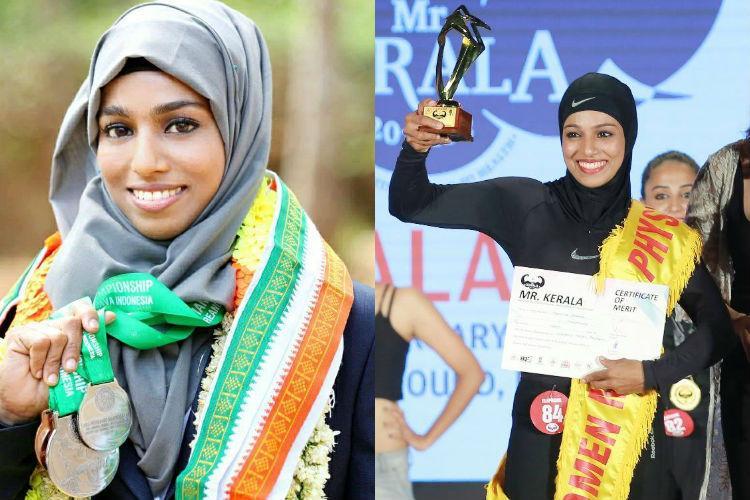 Meet Majiziya Bhanu, the hijab-clad powerlifter from Kerala | The News Minute